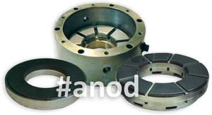 Axial slip bearings